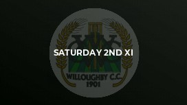 Saturday 2nd XI