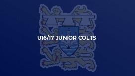 U16/17 Junior Colts