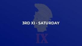 3rd XI - Saturday