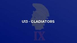 U13 - Gladiators