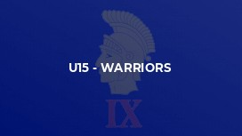 U15 - Warriors
