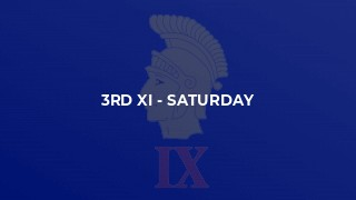3rd XI - Saturday