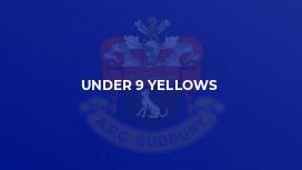 Under 9 Yellows