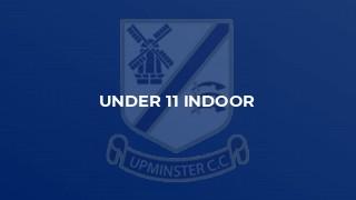 Under 11 Indoor