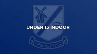 Under 15 Indoor
