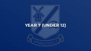 Year 7 (Under 12)