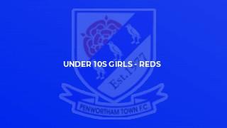 Under 10s Girls - Reds