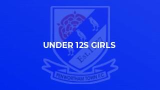 Under 12s Girls