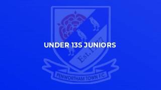 Under 13s Juniors