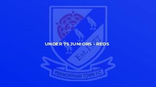 Under 7s Juniors - Reds