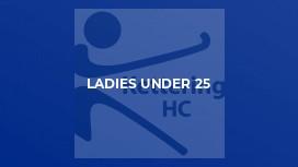 Ladies Under 25