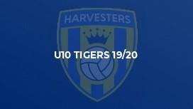 U10 Tigers 19/20