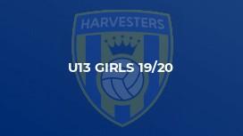 U13 Girls 19/20