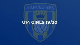 U14 Girls 19/20