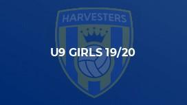 U9 Girls 19/20