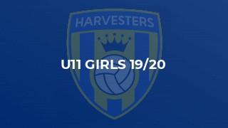U11 Girls 19/20