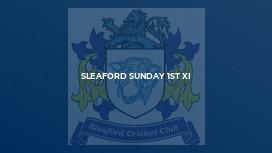 Sleaford Sunday 1st XI