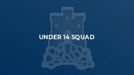 Under 14 Squad