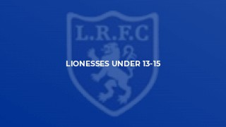 Lionesses Under 13-15
