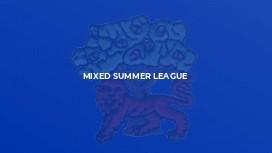 Mixed Summer League