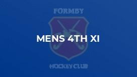 Mens 4th XI