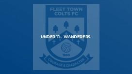 Under 11 - Wanderers