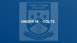 Under 18 -  Colts