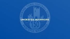 Under 12s Warriors
