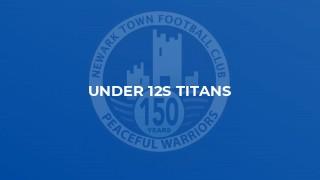 Under 12s Titans