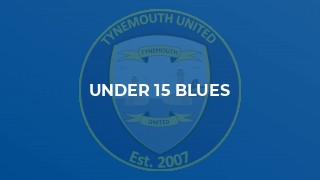 U15 Blues See off Whitley Bay