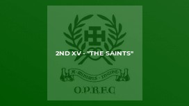 "2nd XV - ""The Saints"""