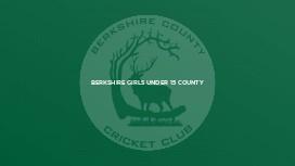 Berkshire Girls Under 15 County
