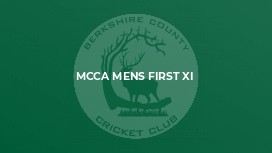 MCCA Mens First XI