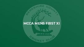 MCCA Mens First XI