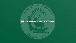 Berkshire Cricket 60+