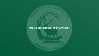 Berkshire Girls Under 13 County