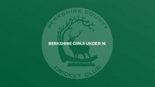 Berkshire Girls Under 16