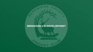 Berkshire U15 Development