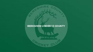Berkshire Under 13 County