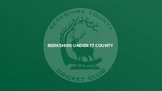 Berkshire Under 17 County