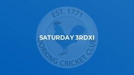 Saturday 3rdXI