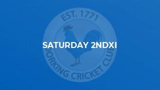 Saturday 2ndXI