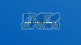Older Juniors (13-16 year olds)