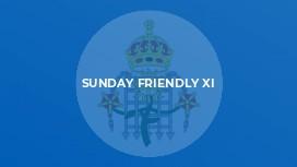 Sunday Friendly XI
