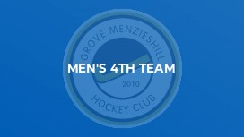 Men's 4th Team