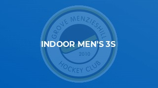 Indoor Men's 3s