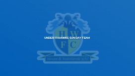 Under 11 Hawks Sunday Team