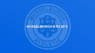Musselburgh Ath 20's v University of Stirling