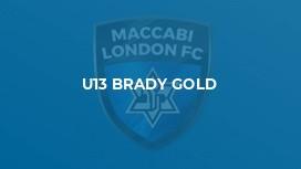 U13 BRADY GOLD