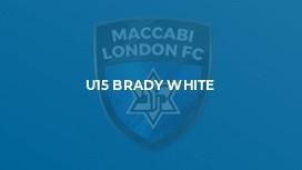 U15 BRADY WHITE